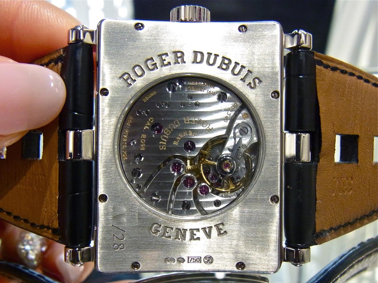 """the latest 3dec3 90dfa 時""""に個性を。本格的遊び時計:ロジェ・デュブイ トゥーマッチ ..."""