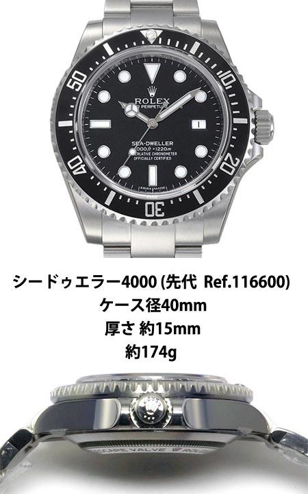 比較 シードゥエラー Ref.116600