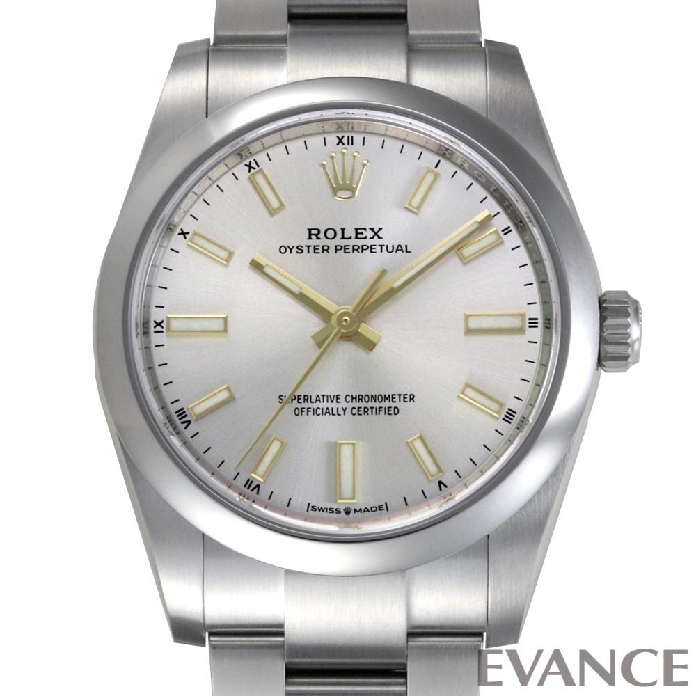 ROLEX ロレックス オイスターパーペチュアル 34 124200