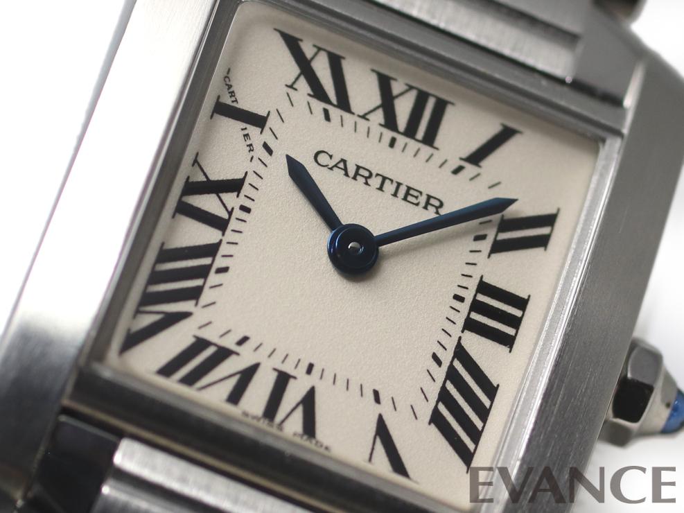 CARTIER カルティエ タンク フランセーズ SM W51008Q3