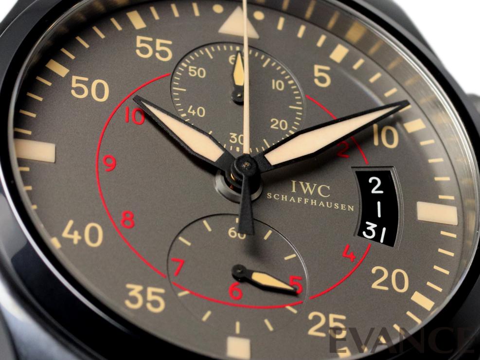 IWC アイ・ダブリュー・シー パイロットクロノグラフ トップガン・ミラマー IW388002