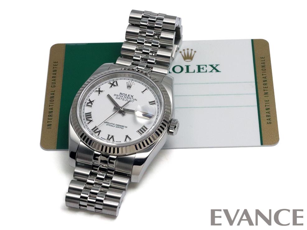 ROLEX ロレックス デイトジャスト WGベゼル 116234
