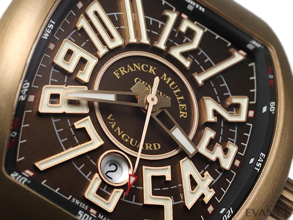 FRANCK MULLER フランク・ミュラー ヴァンガード ブロンズ V45SCDTCIR