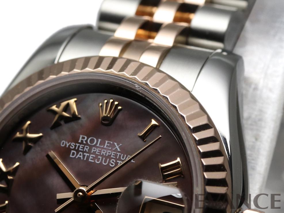 ROLEX ロレックス レディース デイトジャスト RGコンビ 179171