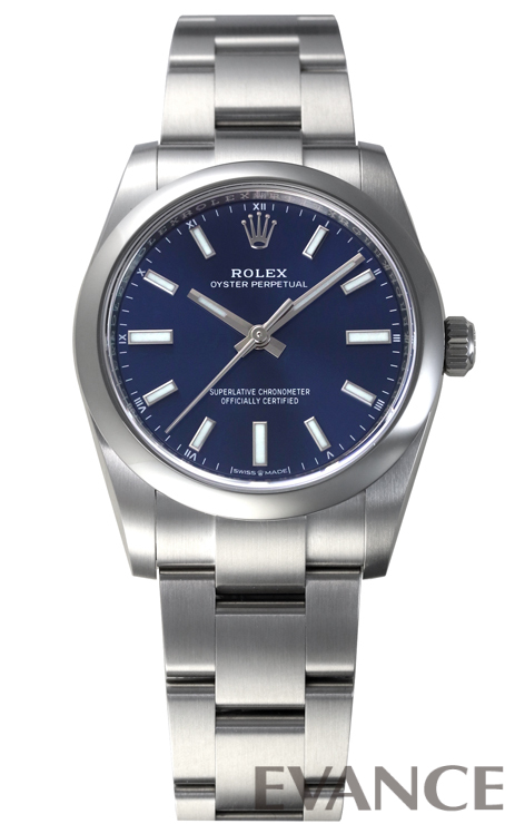 ROLEX ロレックス オイスターパーペチュアル 34【2020年新型】 124200