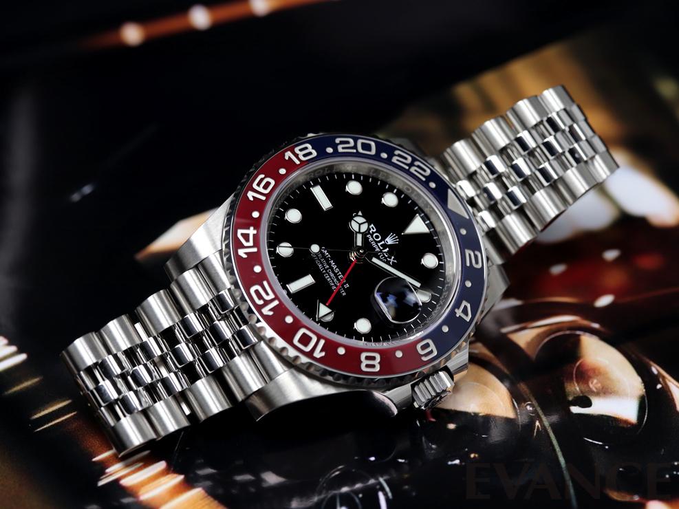 ROLEX ロレックス GMTマスターII 126710BLRO