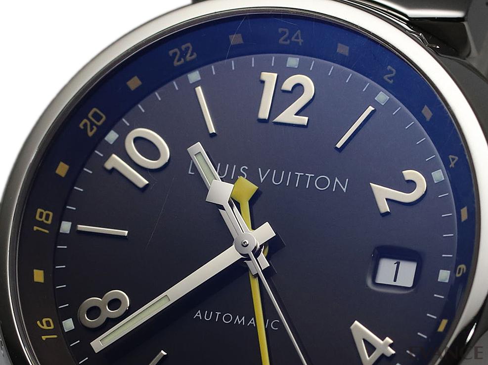 LOUIS VUITTON ルイ・ヴィトン タンブール GMT Q11310