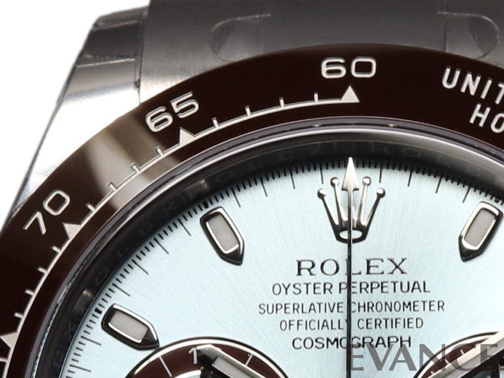 ROLEX ロレックス デイトナ プラチナ<保護シール付> 116506