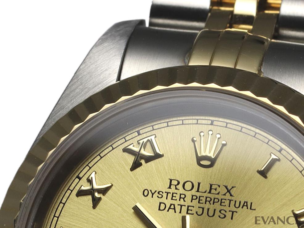ROLEX ロレックス レディース デイトジャスト YGコンビ 69173