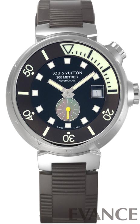 LOUIS VUITTON ルイ・ヴィトン タンブール ダイビング Q1031