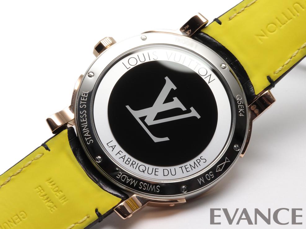 LOUIS VUITTON ルイ・ヴィトン エスカル オトマティック タイムゾーン Q5EK40