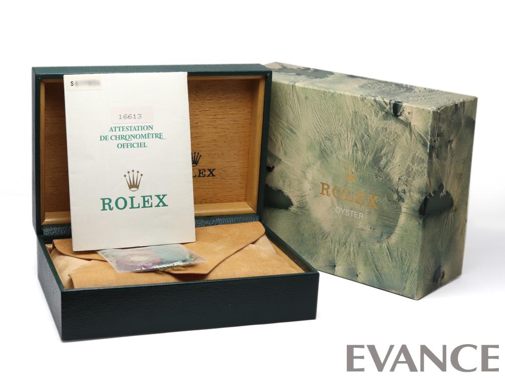 ROLEX ロレックス サブマリーナデイト コンビ 16613