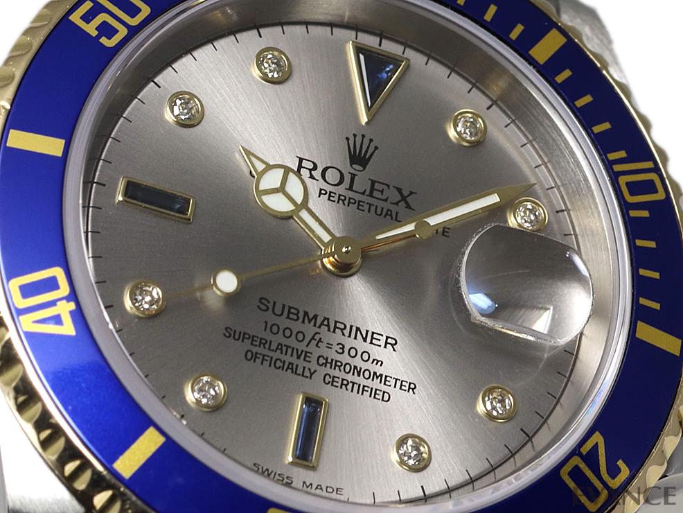 ROLEX ロレックス サブマリーナデイト コンビ 16613SG