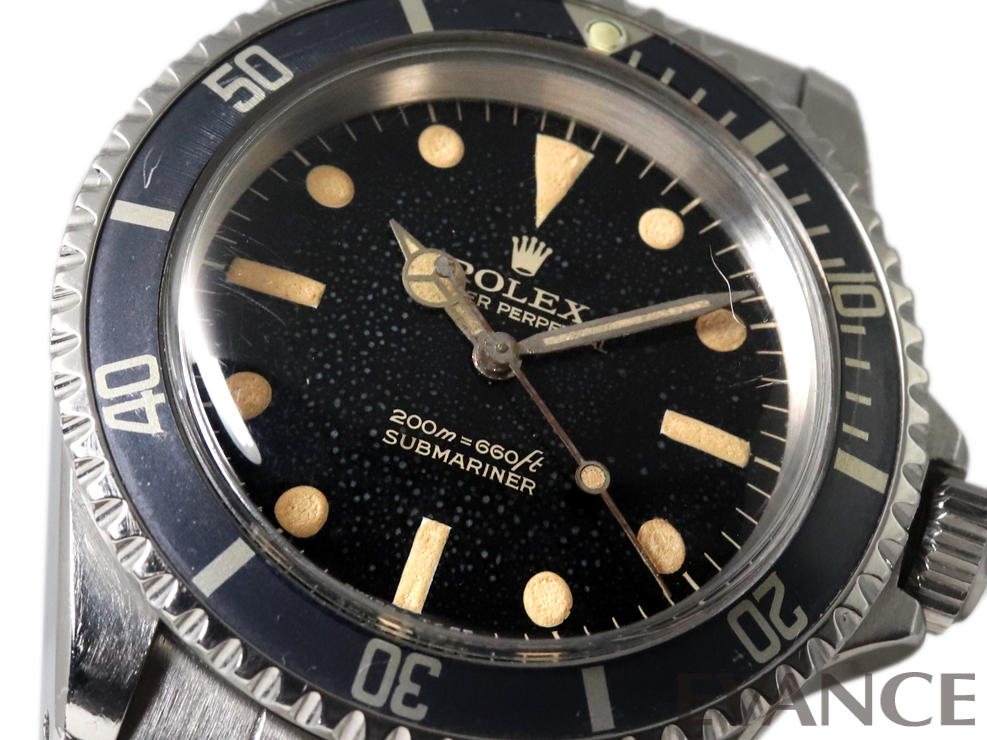 ROLEX ロレックス サブマリーナ ミラーダイヤル 5513