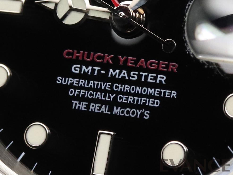 """ROLEX ロレックス GMTマスターI  """"Chuck Yeager"""" 16700"""