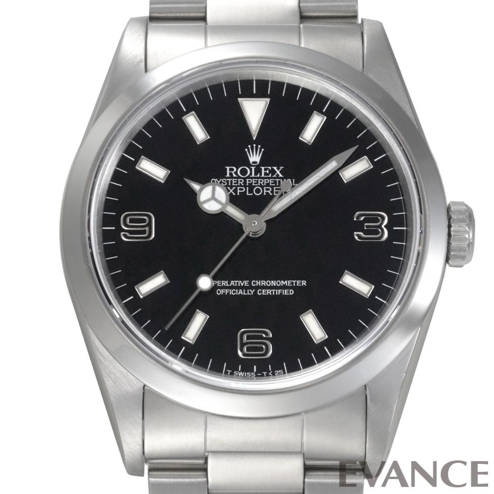 ROLEX ロレックス エクスプローラーI (ブラックアウト) 14270