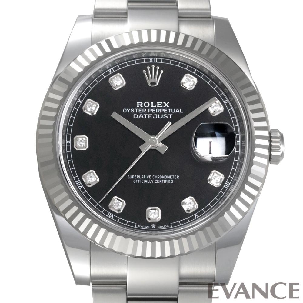ROLEX ロレックス デイトジャスト41 WGベゼル 126334G