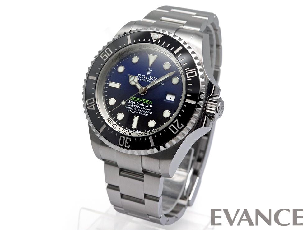 ROLEX ロレックス ディープシー D-blueダイアル 126660