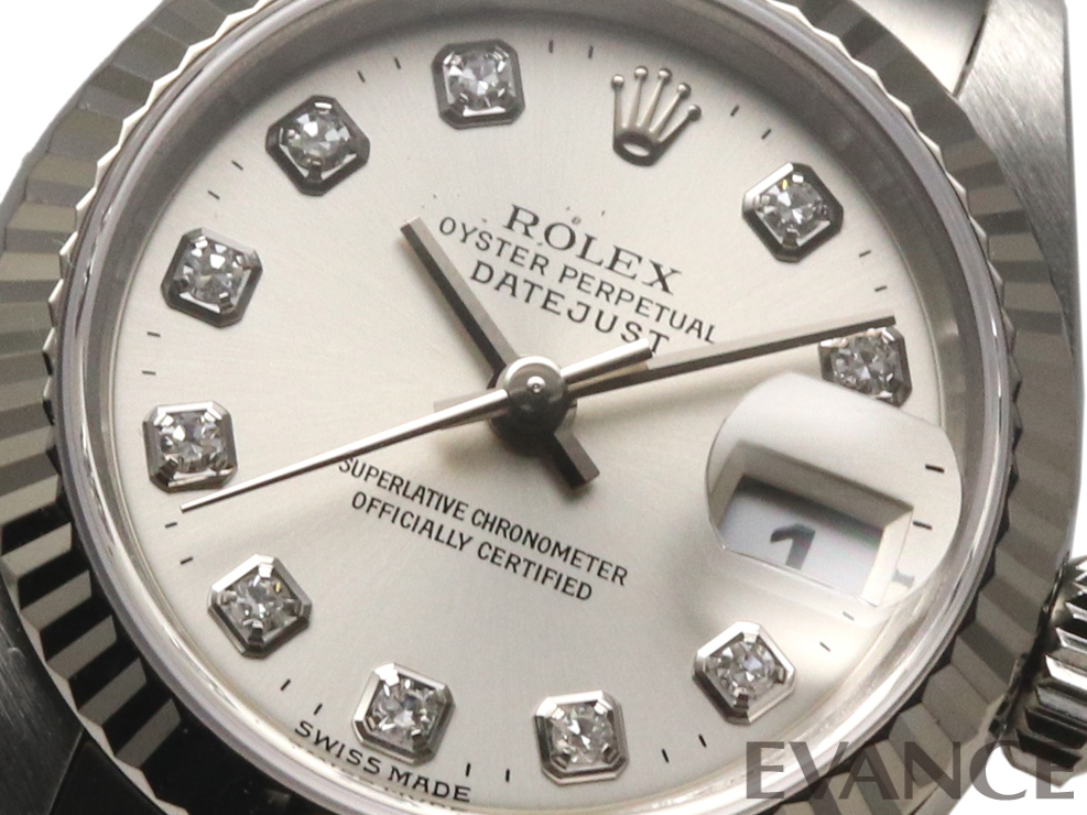 ROLEX ロレックス レディース デイトジャスト WGベゼル 79174G