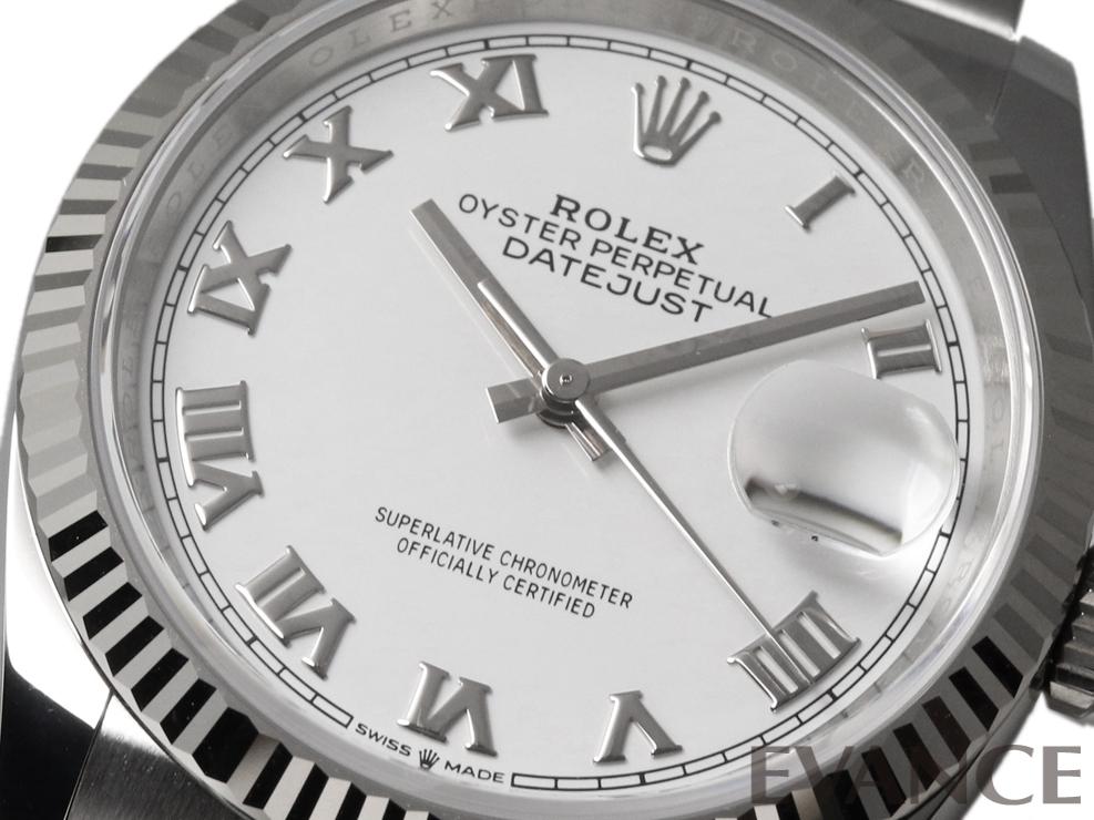 ROLEX ロレックス デイトジャスト36 WGベゼル 126234