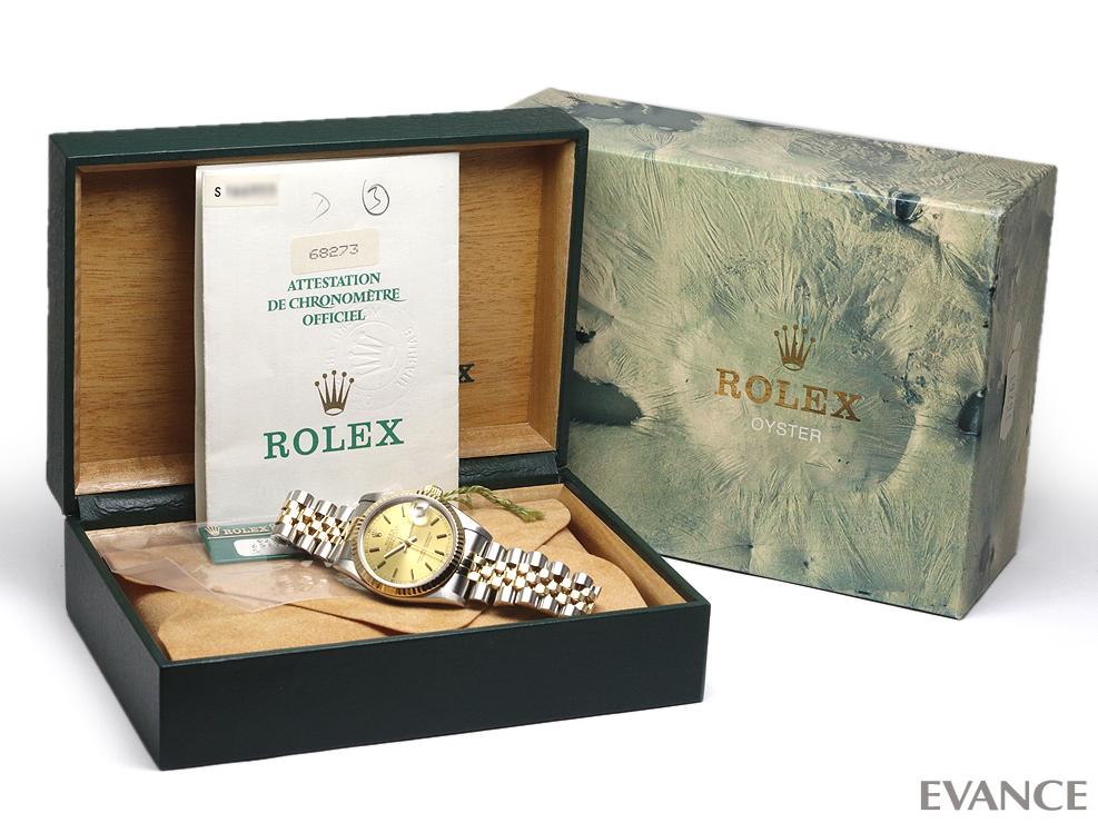ROLEX ロレックス デイトジャスト31 YGコンビ 68273