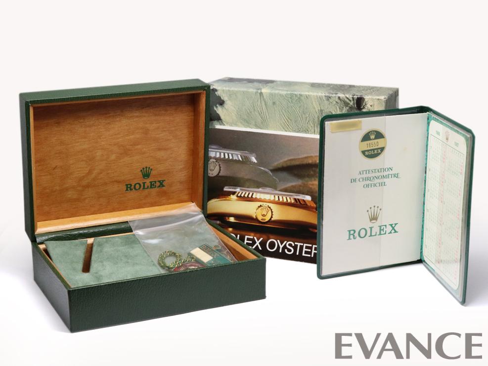 ROLEX ロレックス エクスプローラーII(アイボリーダイアル) 16550