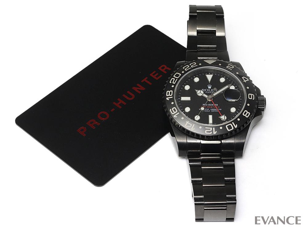 PRO-HUNTER プロハンター GMTマスターII 116710LN