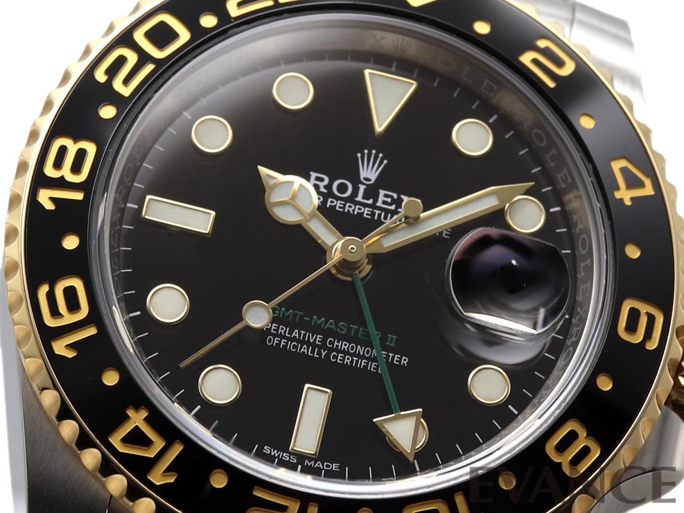 ROLEX ロレックス GMTマスターII 116713LN