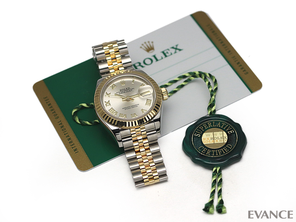 ROLEX ロレックス デイトジャスト28 YGコンビ 279173