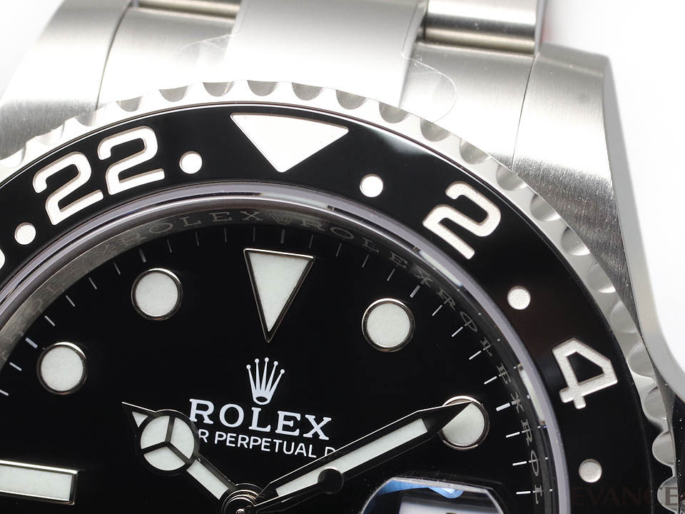 ROLEX ロレックス GMTマスターII <保護シール付> 116710LN