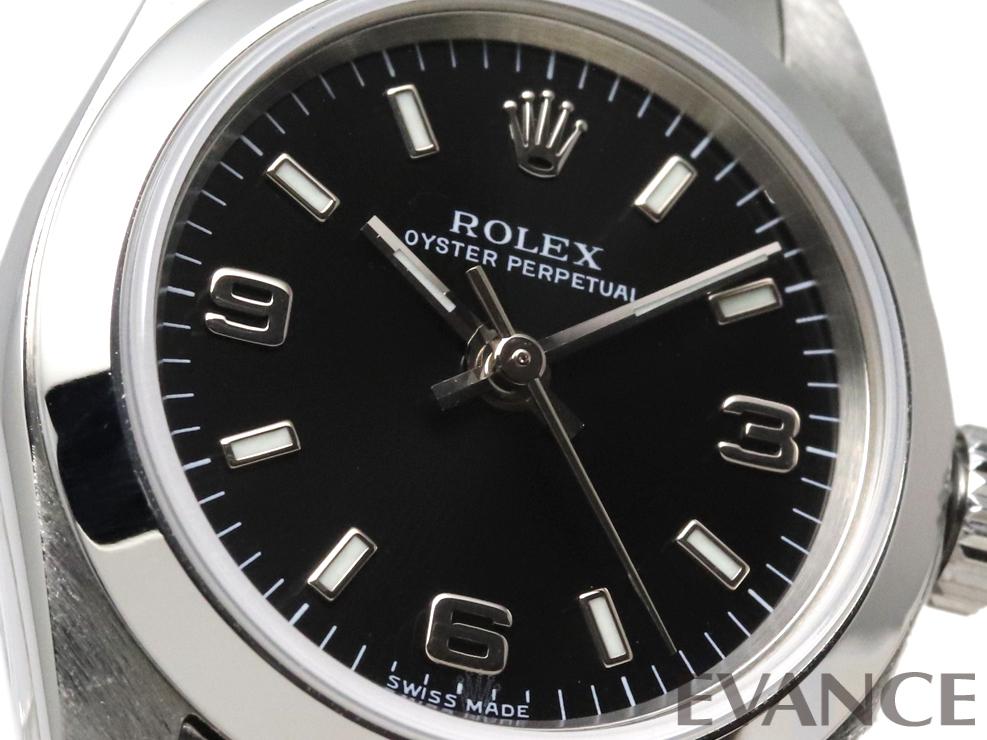 ROLEX ロレックス レディース オイスター パーペチュアル 76080