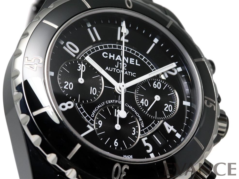 CHANEL シャネル シャネル J12クロノグラフ H0940
