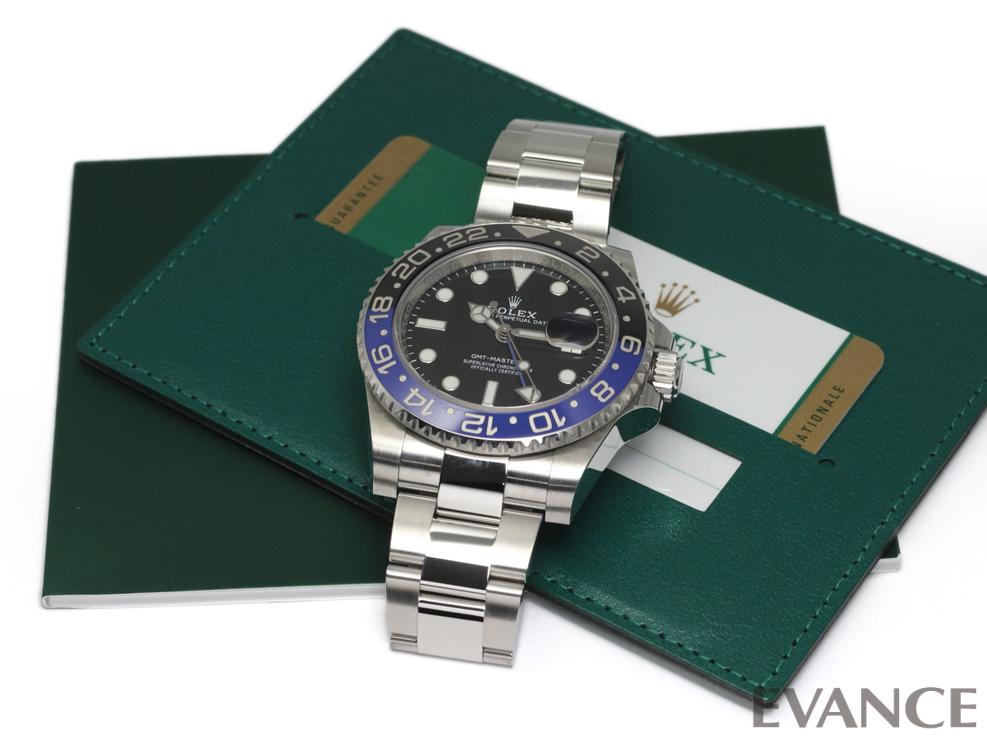 ROLEX ロレックス GMTマスターII 116710BLNR