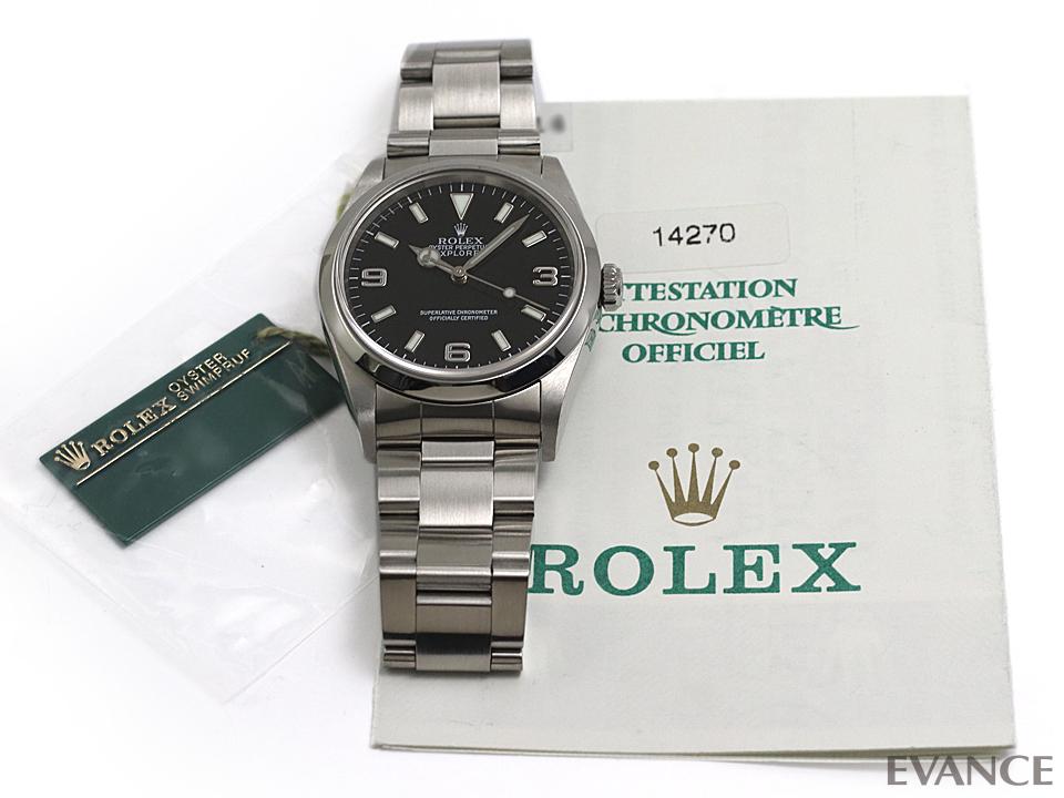 ROLEX ロレックス エクスプローラーI 14270