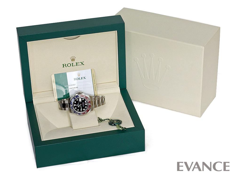 ROLEX ロレックス GMTマスターII ゴールド 116719BLRO