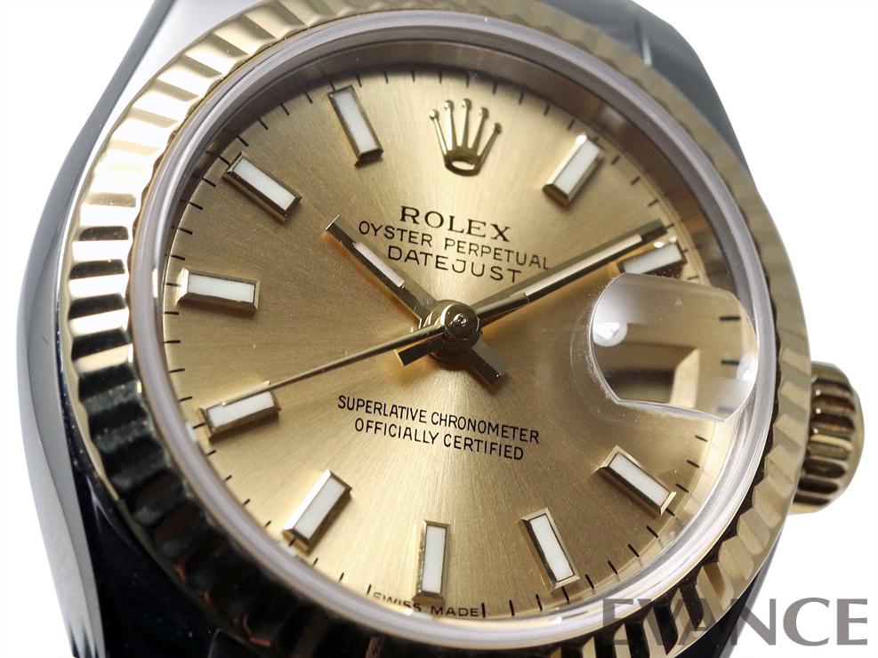 ROLEX ロレックス レディース デイトジャスト YGコンビ 179173
