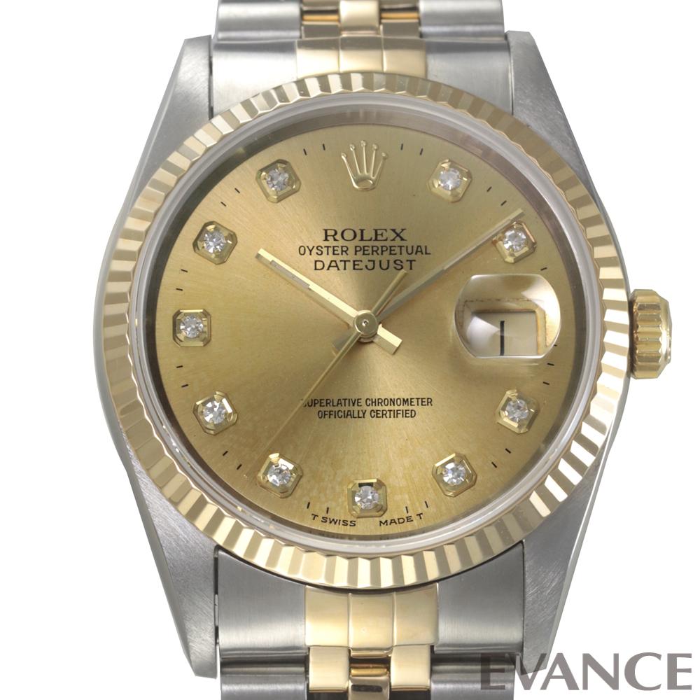 ROLEX ロレックス デイトジャスト YGコンビ 16233G