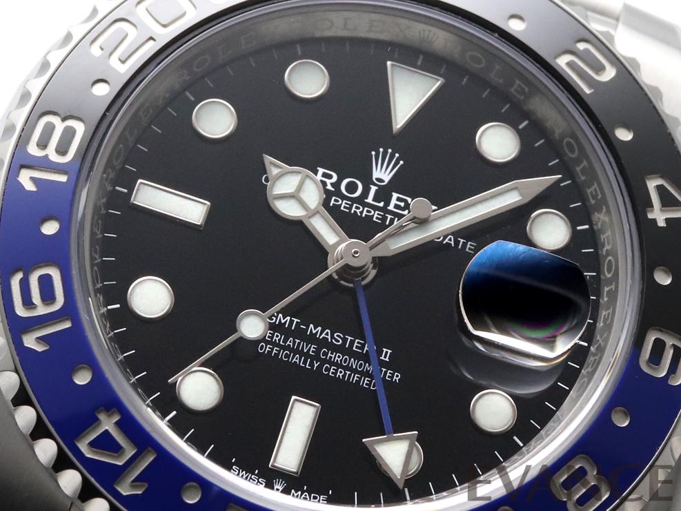 ROLEX ロレックス GMTマスターII 126710BLNR