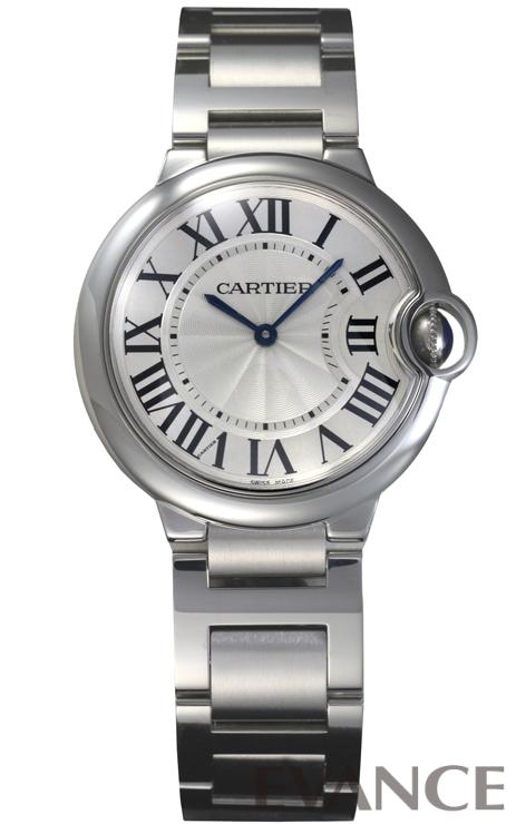 CARTIER カルティエ バロンブルー MM W69011Z4