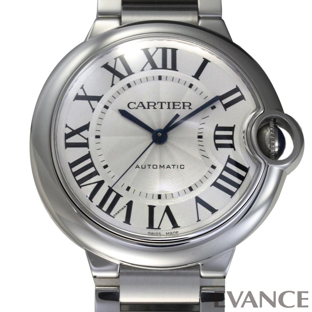 CARTIER カルティエ バロンブルー MM W6920046