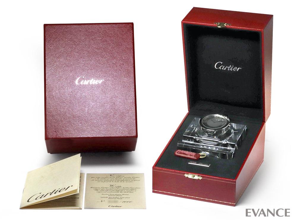 CARTIER カルティエ カラマイオ クロック(1000個限定) T1220194