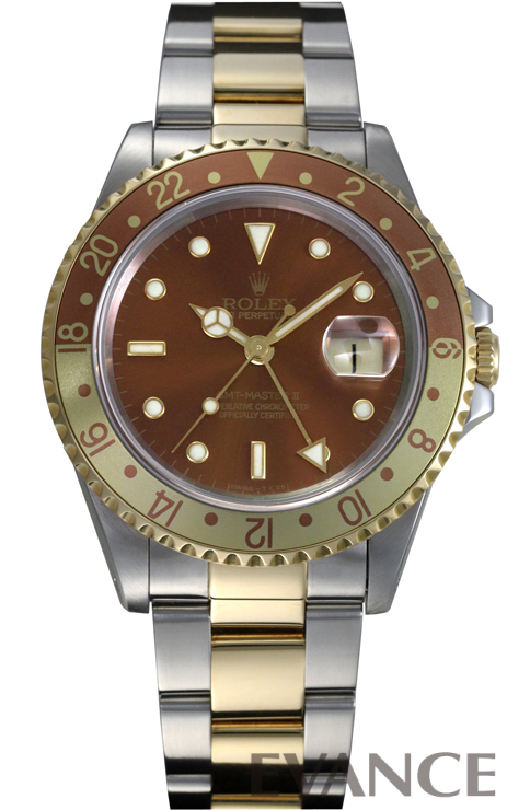 ROLEX ロレックス GMTマスターII 16713