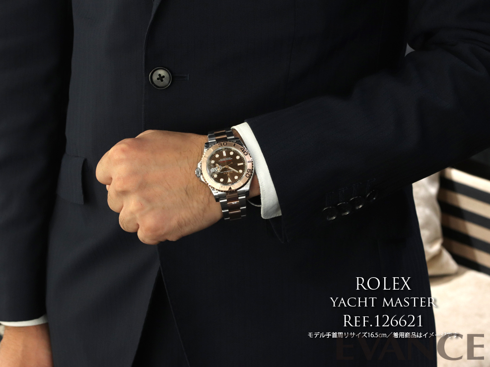 ROLEX ロレックス ヨットマスター40 126621