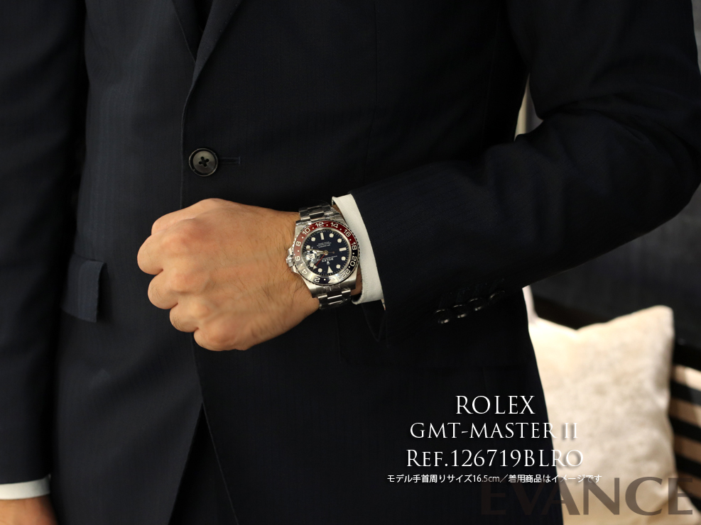 ROLEX ロレックス GMTマスターII 126719BLRO