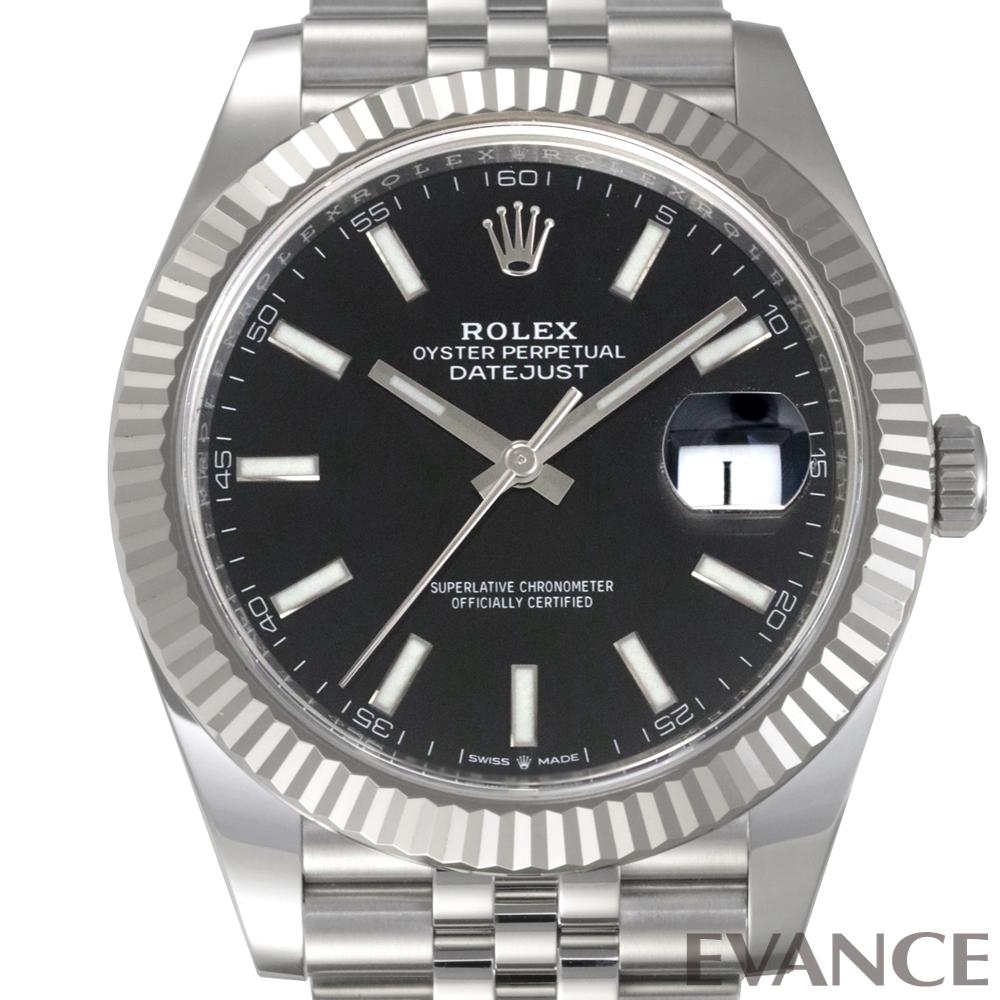 ROLEX ロレックス デイトジャスト41 WGベゼル 126334