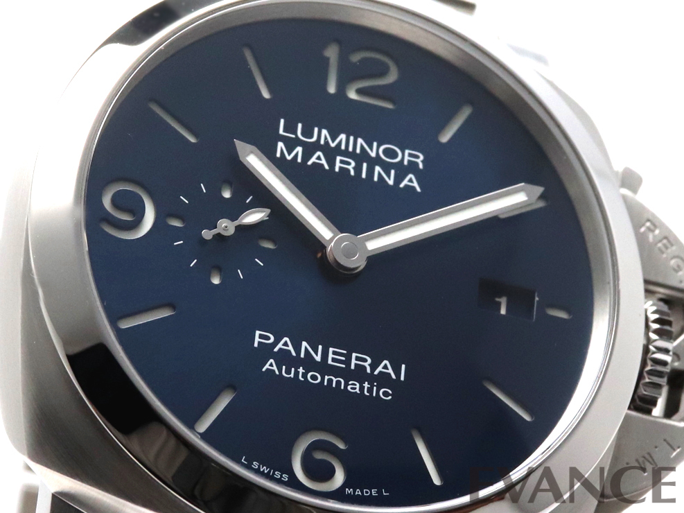 PANERAI パネライ ルミノール マリーナ スペッチオ ブルー PAM01316