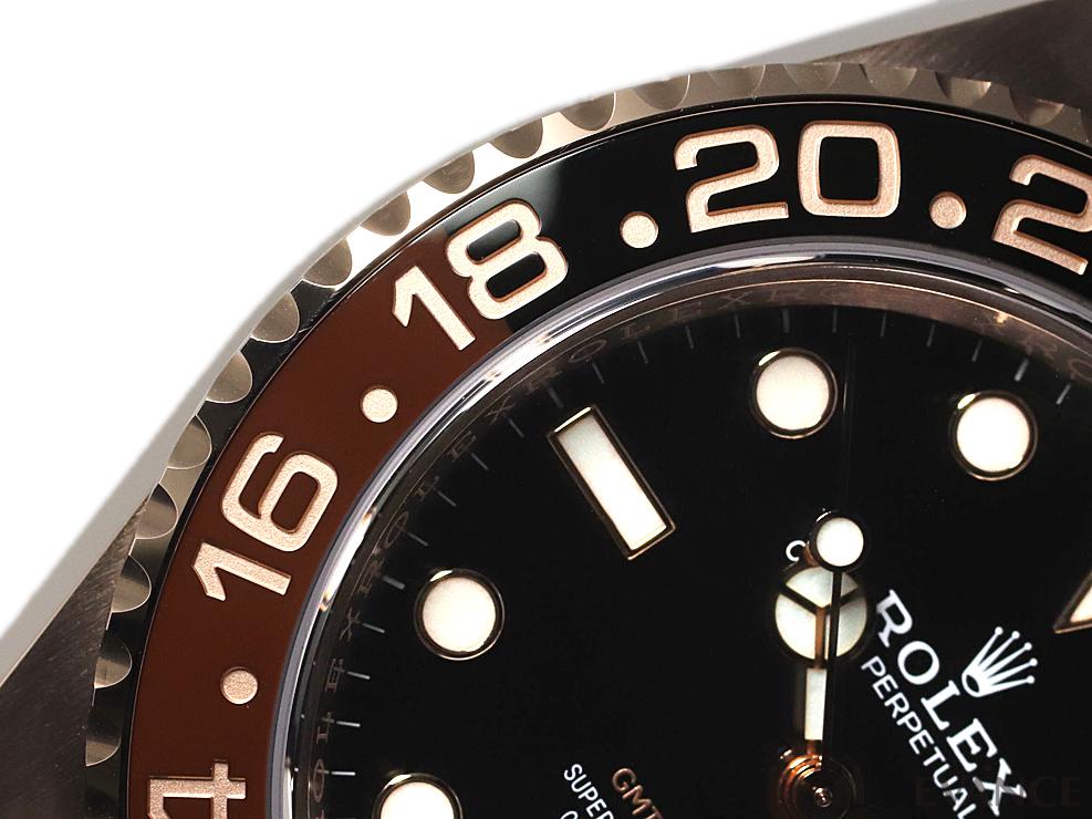 ROLEX ロレックス GMTマスターII<保護シール付> 126715CHNR