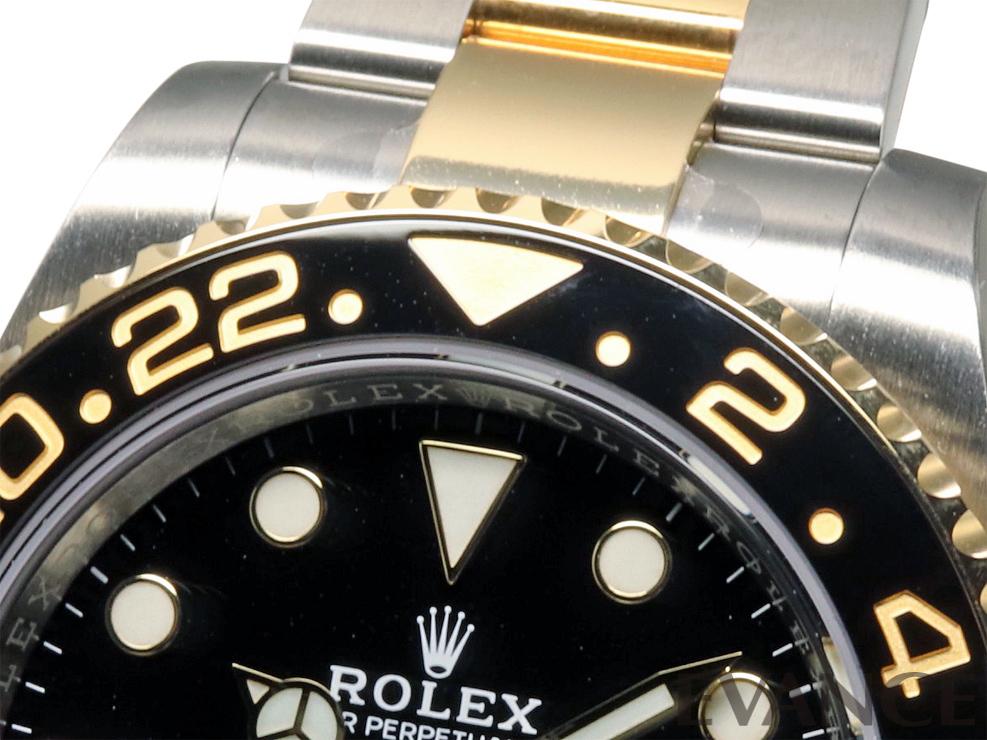 ROLEX ロレックス GMTマスターII<保護シール付> 116713LN