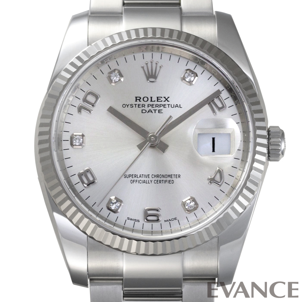 ROLEX ロレックス オイスター パーペチュアルデイト 115234G