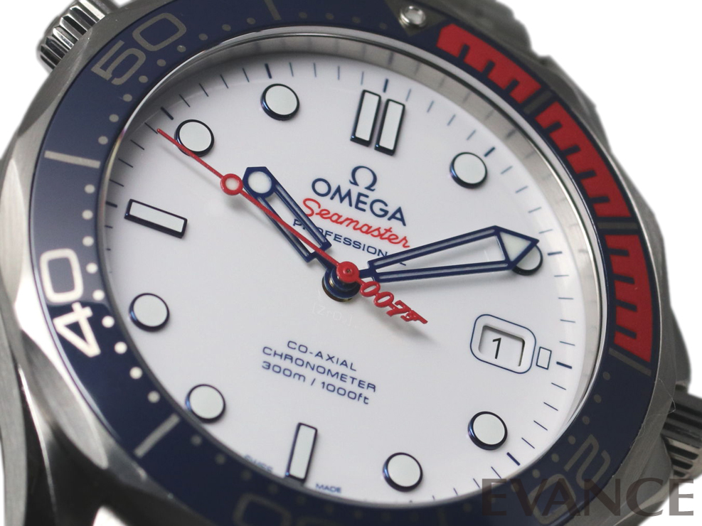 OMEGA オメガ シーマスター ダイバー 300 「コマンダー」 007限定 212.32.41.20.04.001
